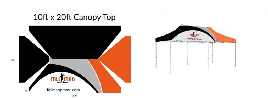 10x20 canopy artwork template