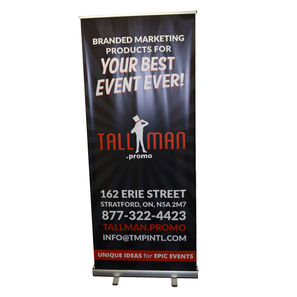 custom rollup banner