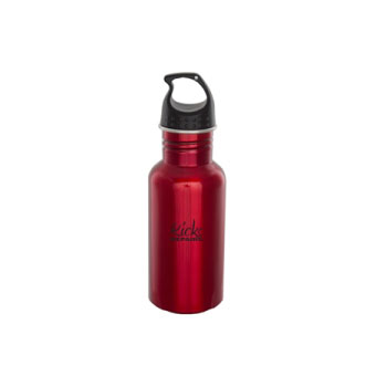 17oz bottle red finish stainless steel