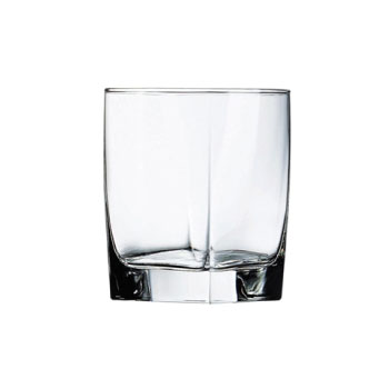 custom square cocktail glass