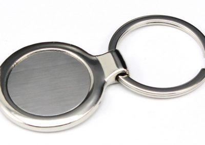 Round Keychain tag