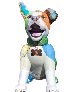 Custom inflatable dog