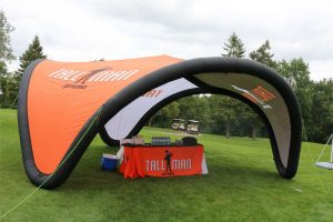 inflatable event canopy tent